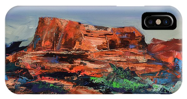 Courthouse Butte Rock - Sedona IPhone Case