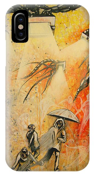 See Hear Speak No Evil Painting By Artist Ekaterina Chernova IPhone Case