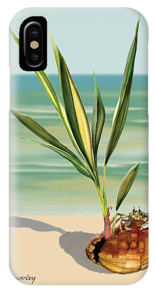Seedling Floating Ashore IPhone Case