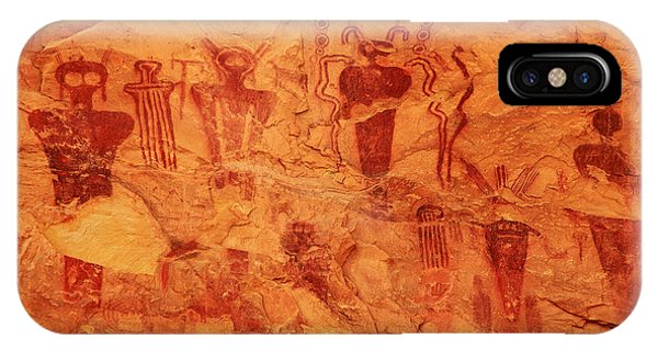 Sego Canyon Rock Art IPhone Case
