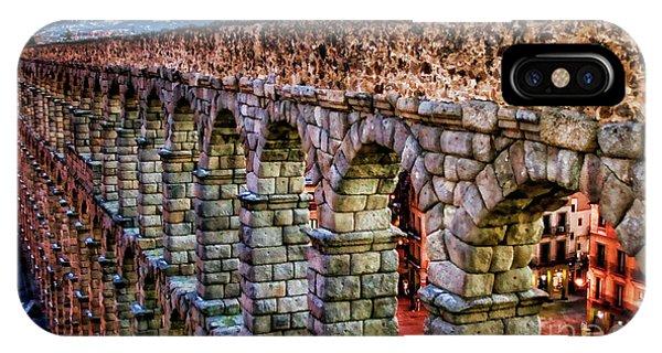 Segovia Aqueduct Spain By Diana Sainz IPhone Case