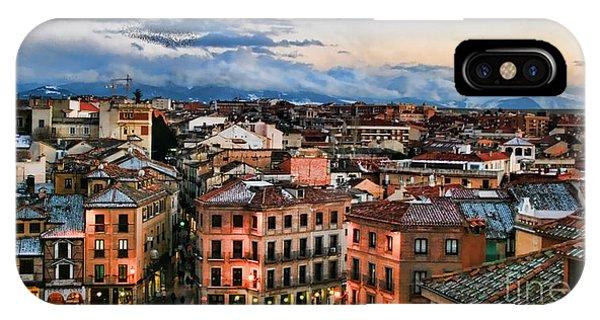 Segovia Nights In Spain By Diana Sainz IPhone Case