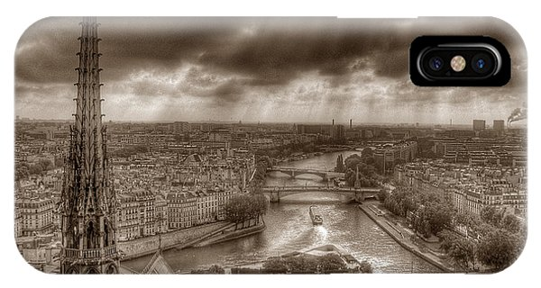 Seine From Notre Dame IPhone Case