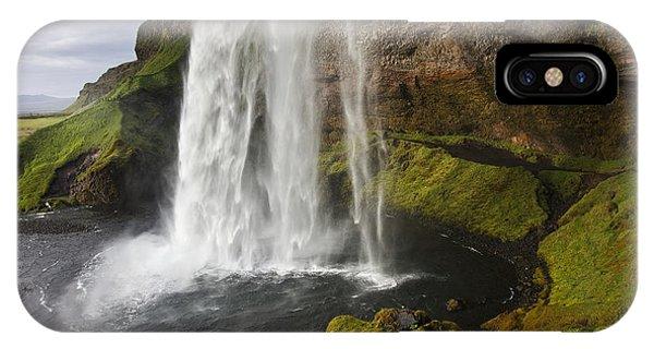Selandsfoss In Iceland IPhone Case