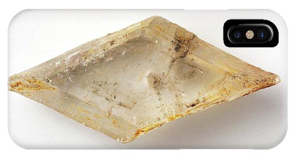 Selenite Gypsum Phone Case by Dorling Kindersley/uig