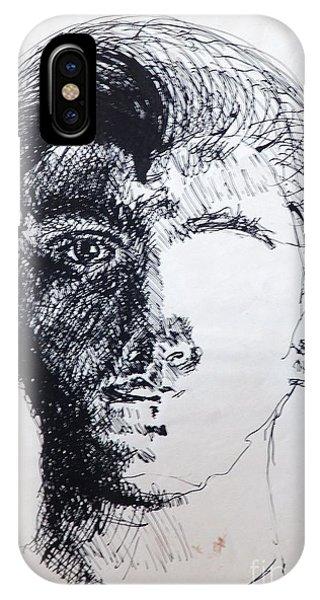 Self Portrait At 21 IPhone Case
