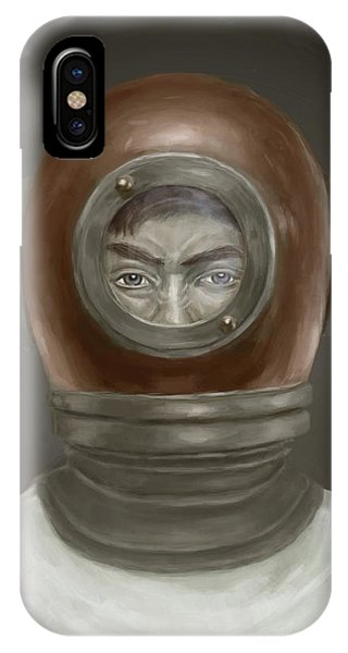 Portraits iPhone Case - Self Portrait by Balazs Solti