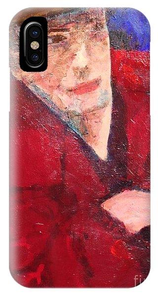 Self-portrait IPhone Case