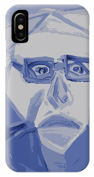 Self Portrait In Cubism IPhone Case