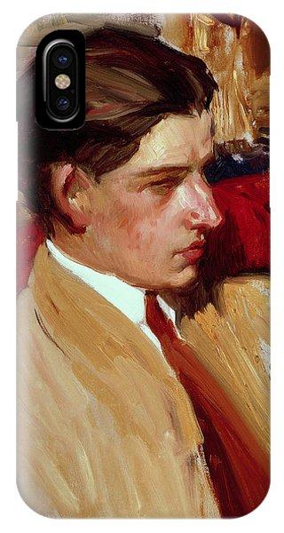 Self Portrait In Profile IPhone Case