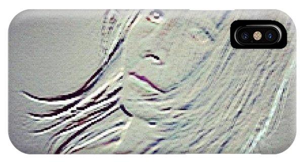 Self-portrait #mgmarts #selfportrait IPhone Case