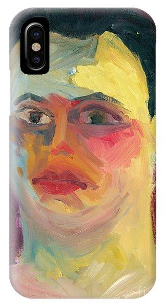Self Portrait Oil Panting IPhone Case