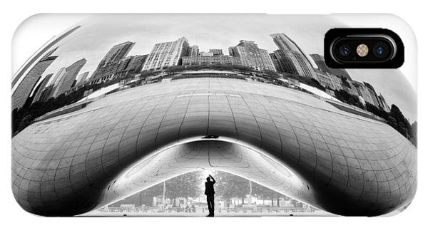 Chicago iPhone Case - Selfie by Louis-philippe Provost