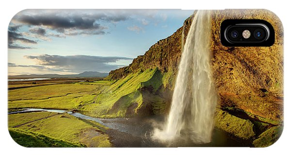 Seljalandsfoss Iceland IPhone Case