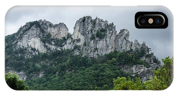 Seneca Rock IPhone Case