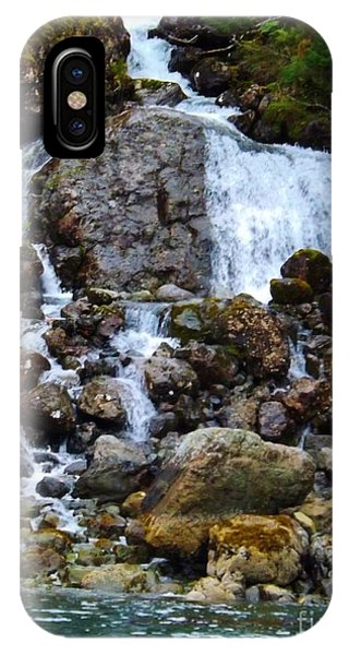Sensory Feast Waterfall IPhone Case