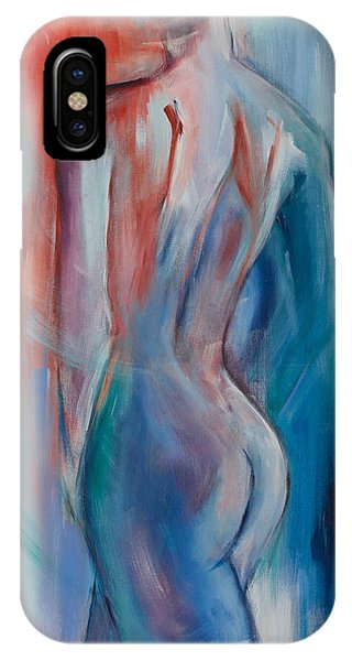 Nudes iPhone X Case - Sensuelle by Elise Palmigiani