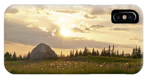 Sentinel Rock Sunset IPhone Case