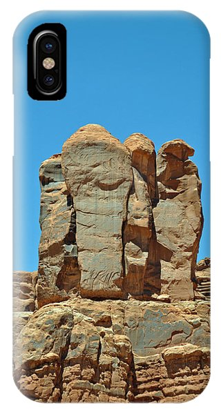 Sentinels In Arches National Park IPhone Case