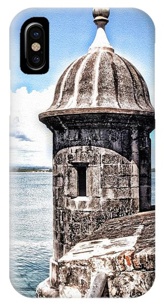 Sentry Box In El Morro Hdr IPhone Case