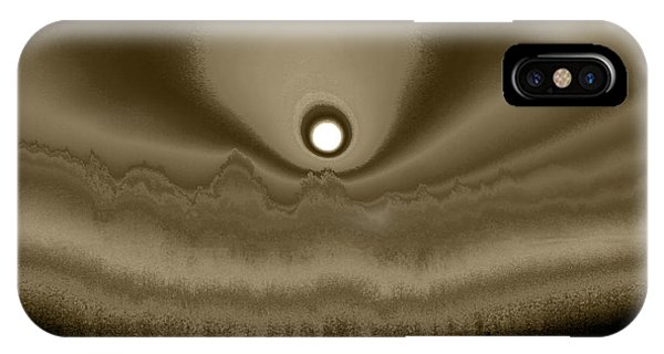 Sepia Sunrise IPhone Case