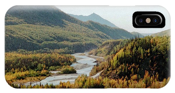 September Morning In Alaska IPhone Case