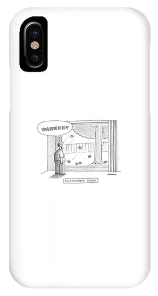 September Song IPhone Case
