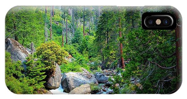 Sequoia Stream IPhone Case