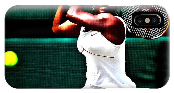 Venus Williams iPhone Case - Serena Williams 3a by Brian Reaves