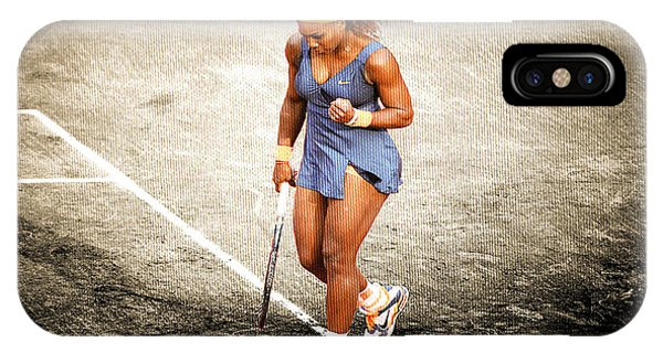 Venus Williams iPhone Case - Serena Williams Count It by Brian Reaves