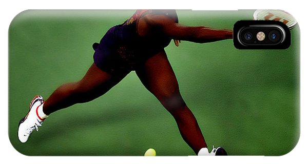 Serena Williams On Point IPhone Case