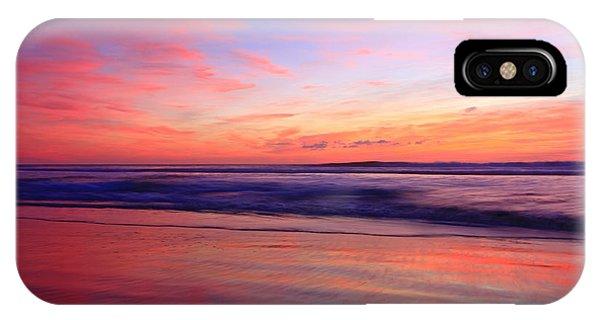 Serene Oceanside Glow IPhone Case