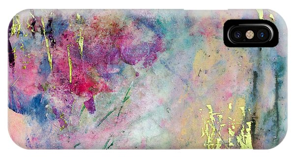 Serene Mist Encaustic IPhone Case