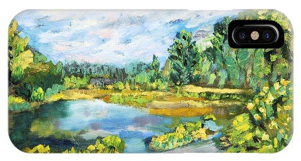 Serene Pond IPhone Case