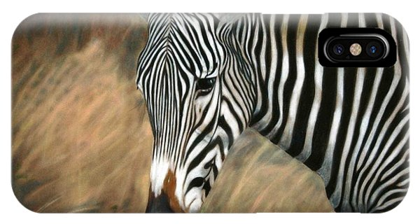 Serengeti Zebra IPhone Case