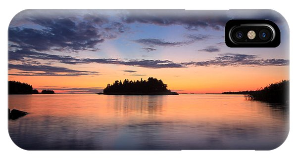 Serenity After The Sunset IPhone Case