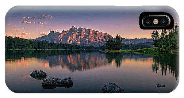 Banff iPhone Case - Serenity by David D