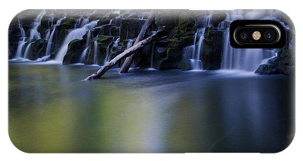 Serenity Falls Phone Case by Jackie Follett