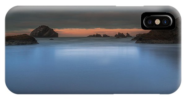 Serenity In Blue.... Bandon IPhone Case