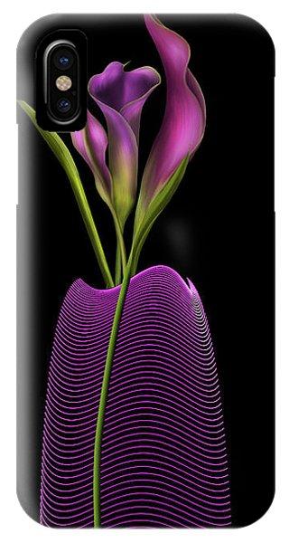Serenity In Purple IPhone Case