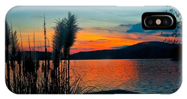 Serenity Orange IPhone Case