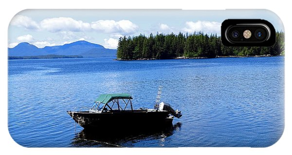 Serenity Outside Of Ketchikan Ak IPhone Case