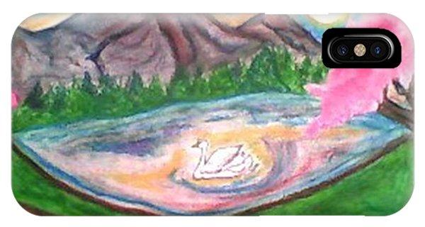 Serenity Pond Phone Case by Lewanda Laboy