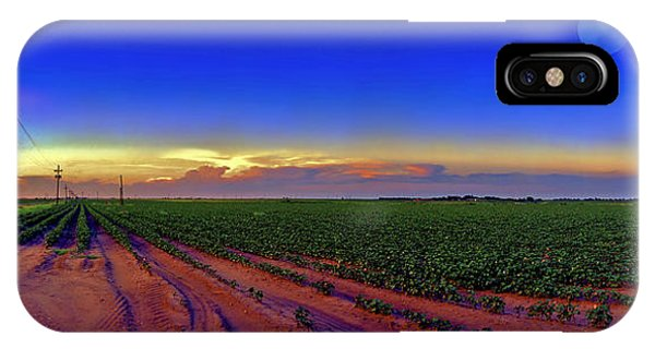 Sunset iPhone Case - Serenity by Robert Hudnall