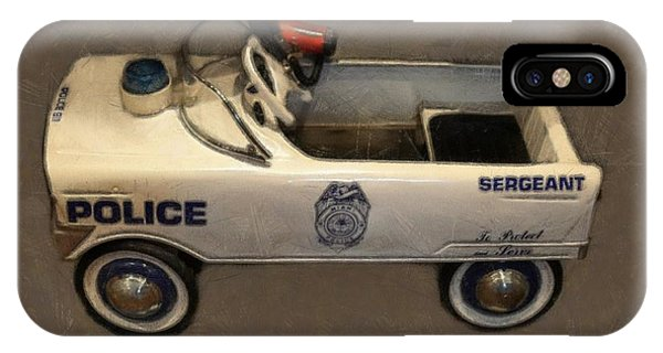 Sergeant Pedal Car IPhone Case