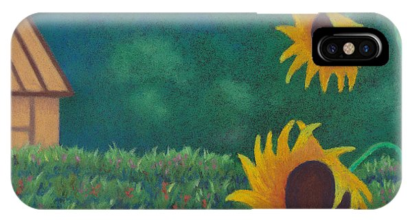 Sergi's Sunflowers IPhone Case