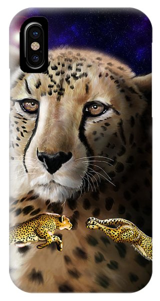 First In The Big Cat Series - Cheetah IPhone Case