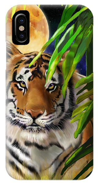 Second In The Big Cat Series - Tiger IPhone Case