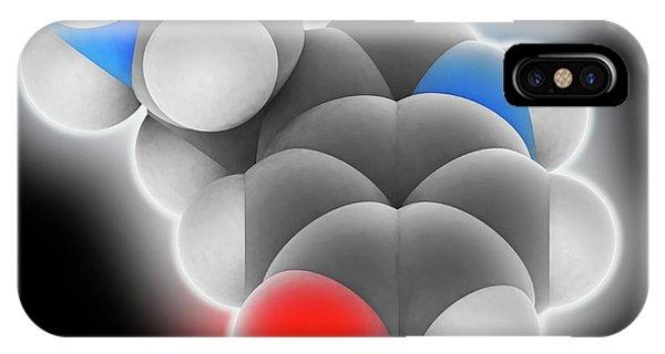 Well Being iPhone Case - Serotonin Molecule by Laguna Design