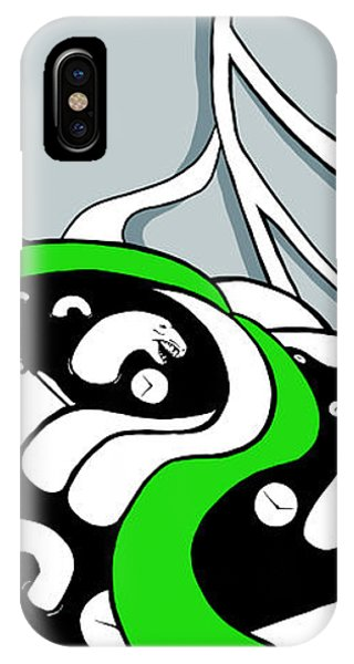 Serpent Of Time IPhone Case